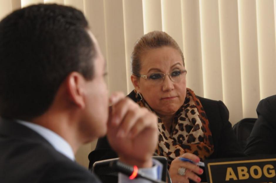 Blanca Stalling intentó desacreditar su testimonio. (Foto: Jesús Alfonso/Soy502)