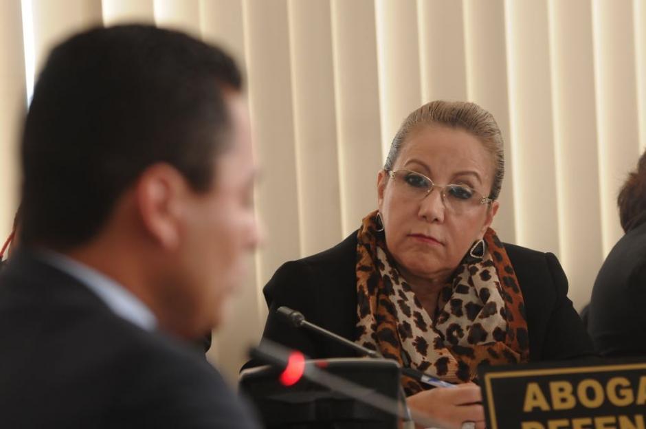 Blanca Stalling interrogó al juez. Foto: Jesús Alfonso/Soy502)