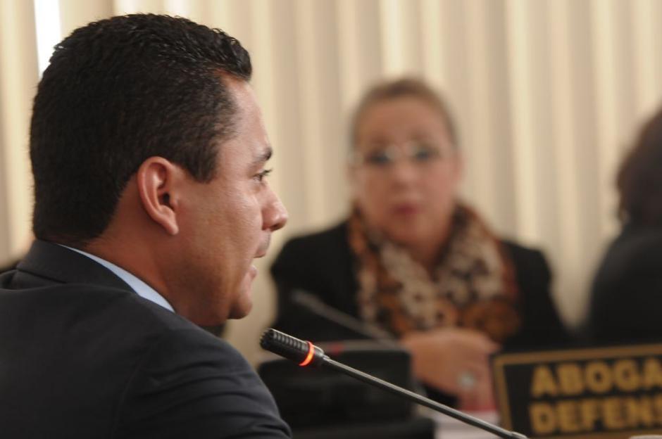 El Juez Ruano testificó en contra de Blanca Stalling. (Foto: Jesús Alfonso/Soy502)