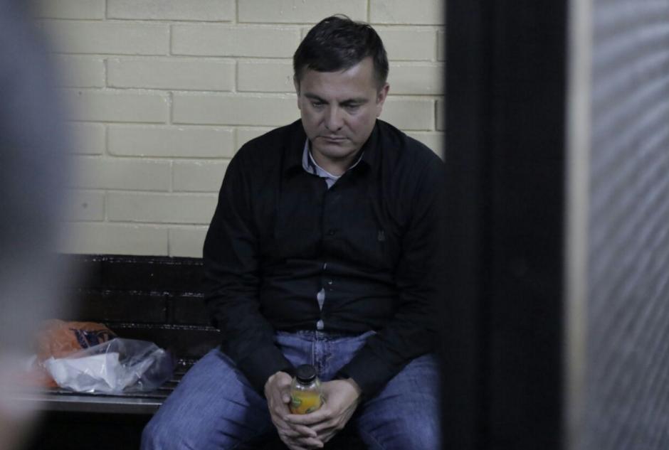 Byron Manuel Santos fue capturado el viernes. (Foto: Alejandro Balán/Soy502)