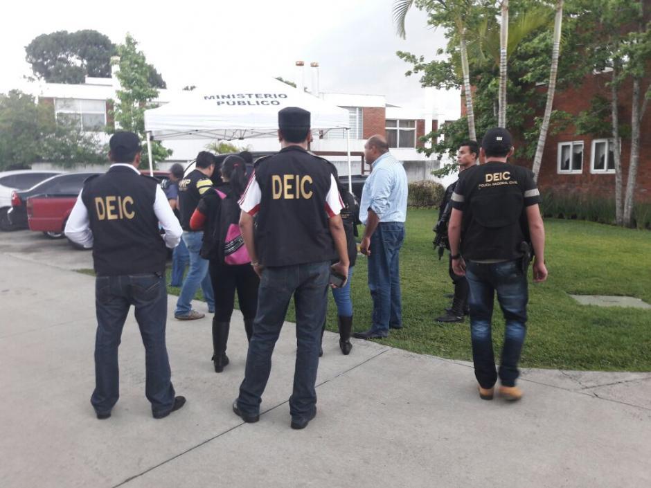 Benjamin Estrada confirmó que visitó a La Patrona la noche del 11 de mayo. (Foto: PNC)