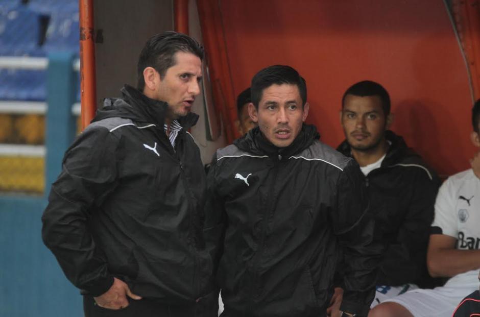 Ronald González y Rigoberto Gómez no pudieron triunfar. (Foto: Luis Barrios/Soy502)