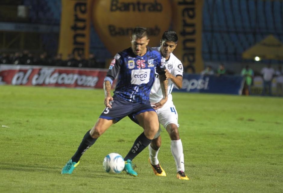 Suchitepéquez clasificó a las semifinales del torneo. (Foto: Luis Barrios/Soy502)