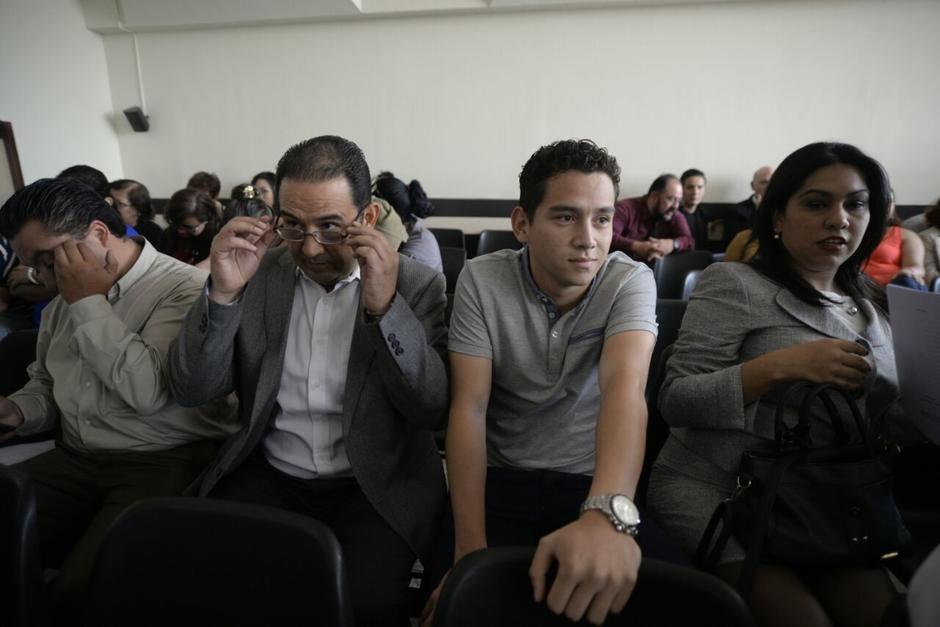 Sammy y José Manuel Morales enfrentan proceso penal en el caso Botín en el Registro de la Propiedad. (Foto: Wilder López/Soy502)