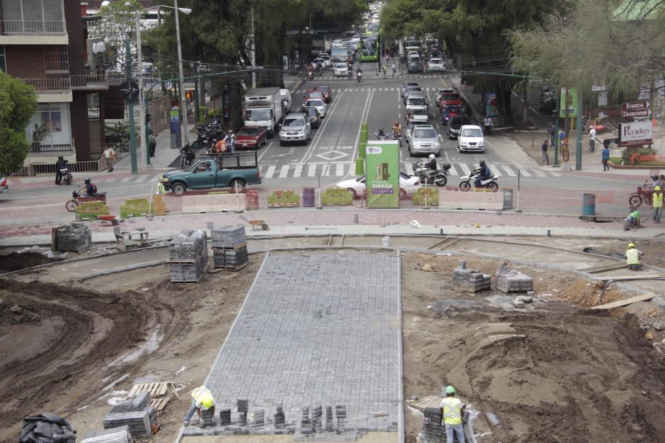 Las obras avanzan con el tiempo estipulado por la municipalidad. (Foto: Manuela Trillos/Soy502)