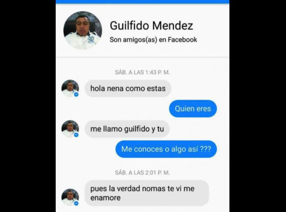 Varias capturas de pantalla circulan en las redes sociales. (Foto: Villa Nueva en Gráficas)