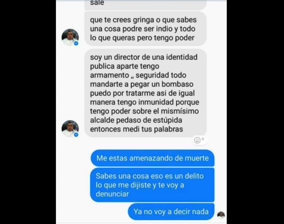 El acosador afirma ser jefe de seguridad de Villa Nueva. (Foto: Villa Nueva en Gráficas)