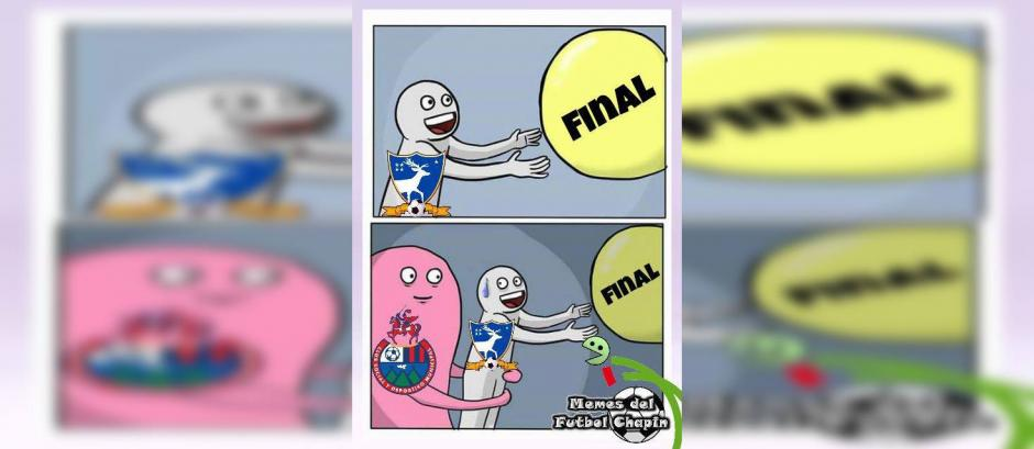 """Los """"memes"""" empezaron a circular horas antes del juego de vuelta entre Suchitepéquez y Municipal. (Foto: Memes del fútbol Chapín)"""