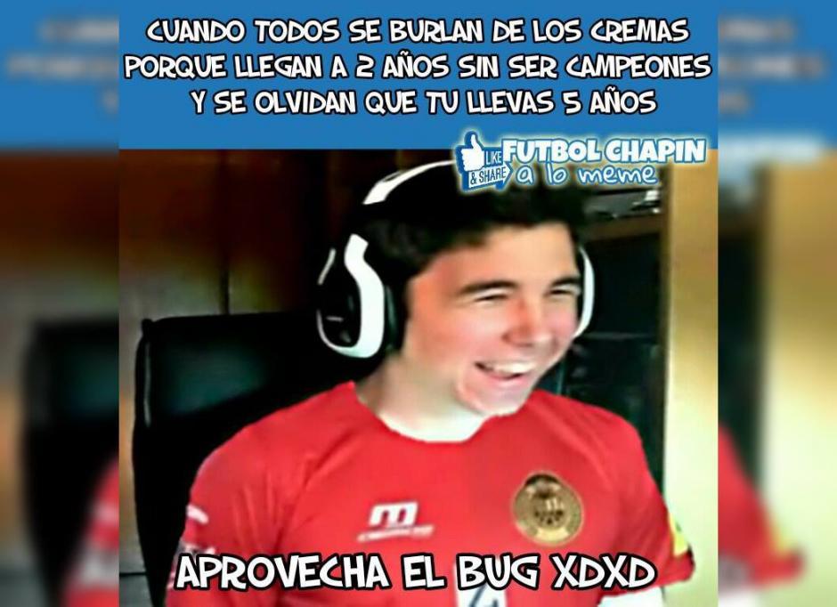 """Los """"memes"""" ponen el toque humorístico a la fase final del torneo Clausura 2017. (Foto: Fútbol Chapín a lo meme)"""