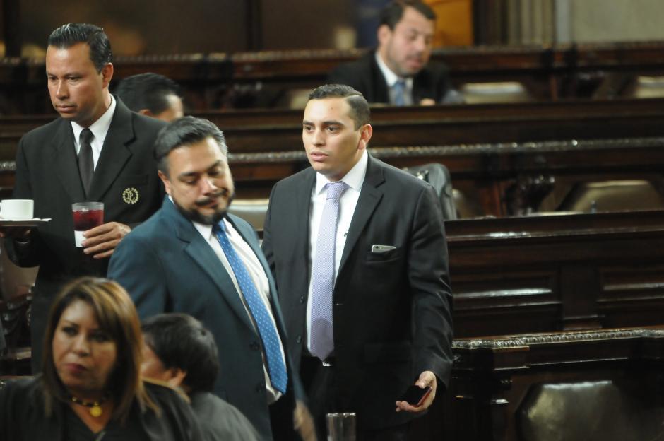 Giordano asegura que discutía temas personales con su jefe de bancada. (Foto: Jesús Alfonso/Soy502)