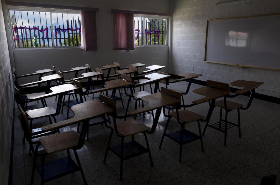 Los niños de Tzununá pueden disfrutar de sus clases con una vista espectacular. (Foto: George Rojas/Soy502)