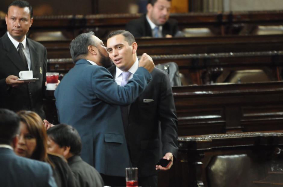 Ambos diputados forman parte del FCN. (Foto: Jesús Alfonso/Soy502)