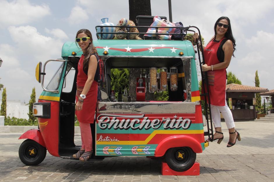 El Chucherito lleva el nombre de ambas emprendedoras. (Foto: Fredy Hernández/Soy502)