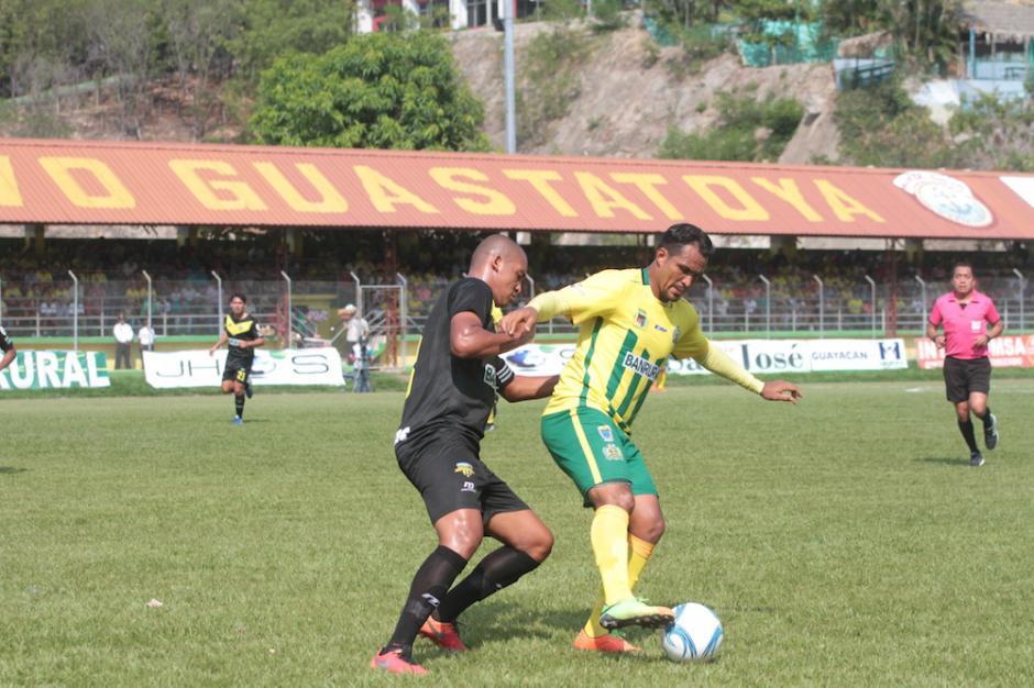Guastatoya anotó tres goles como local.  (Foto: Álvaro Lainfiesta/Soy502)