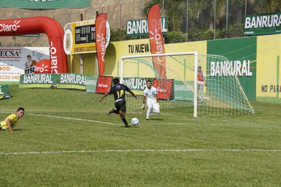 Petapa no logró la victoria en la cancha de Guastatoya.  (Foto: Luis Barrios/Soy502)