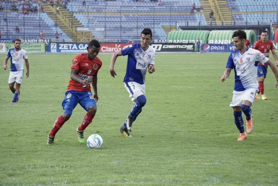 Suchitepéquez no logró remontar el marcador y se despide de la final. (Foto: Álvaro Lainfiesta/Soy502)