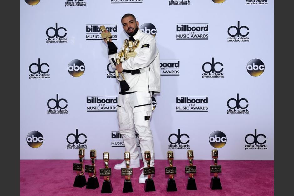 Drake superó el récord de Adele como artista que más Billboard ha ganado. (Foto: AFP)