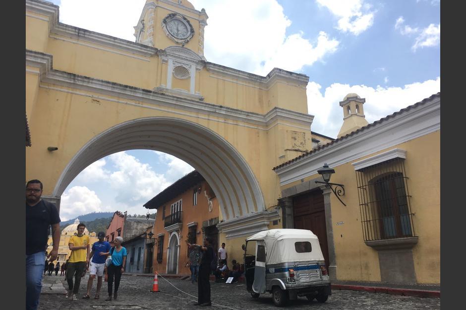 La medida se tomó para desalojar a los vendedores ambulantes. (Foto: Fredy Hernández/Soy502)