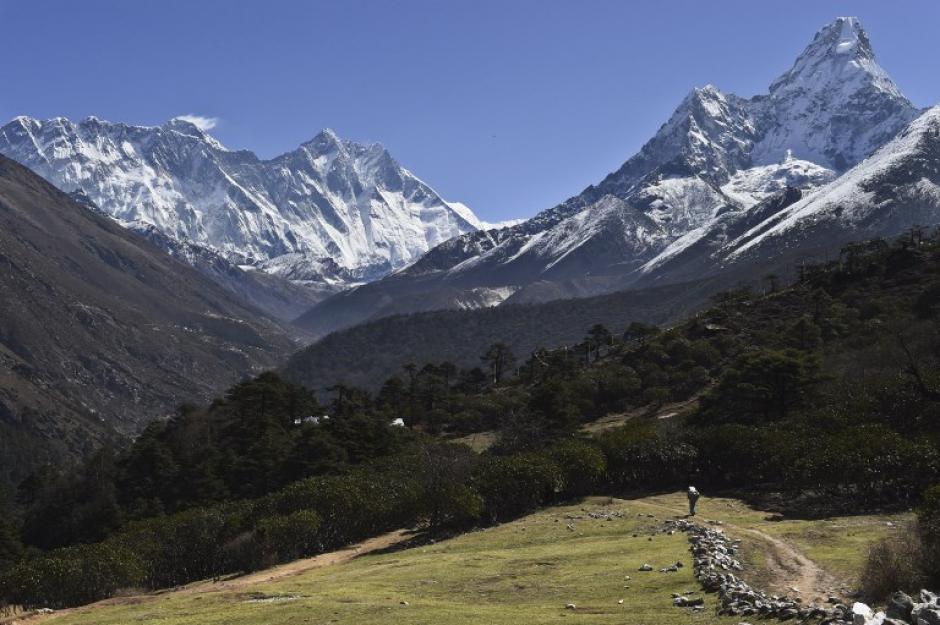 Un montañista británico descubrió la parte que hace falta en la montaña. (Foto: AFP)