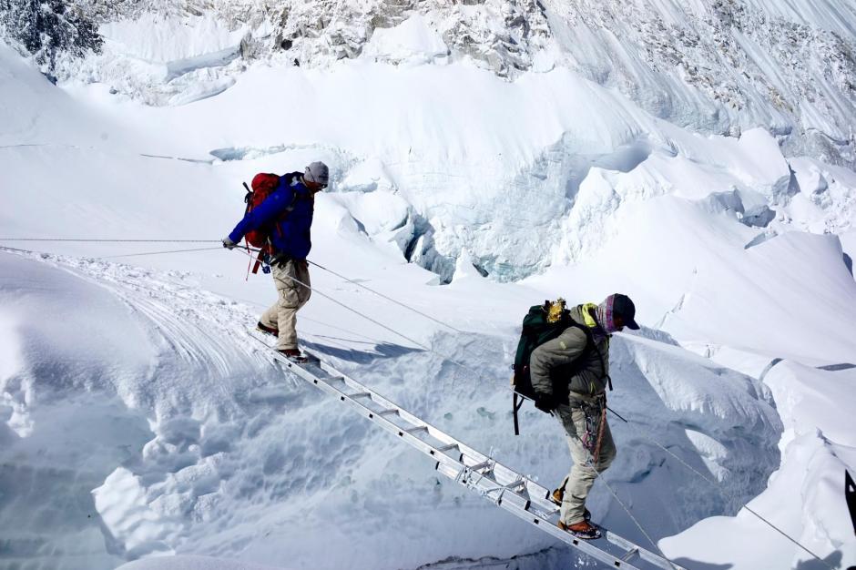El Hillary Step medía unos 12 metros de altura. (Foto: Tim Mosedale)