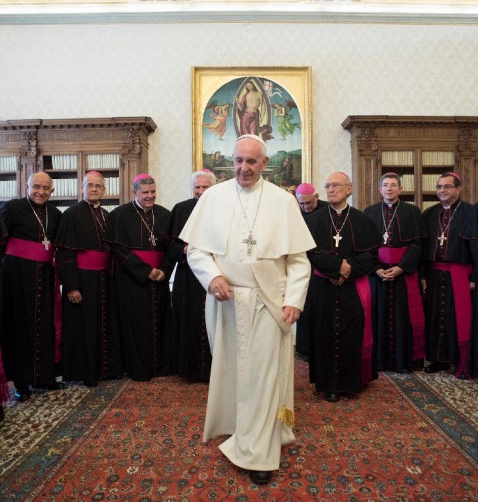 Esta es una visita Ad limina que deben realizar los obispos cada cinco o diez años. (Foto: AFP)