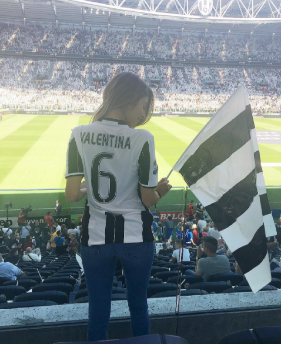 Valentina es la fan más sexy de la Juventus. (Foto: Instagram)
