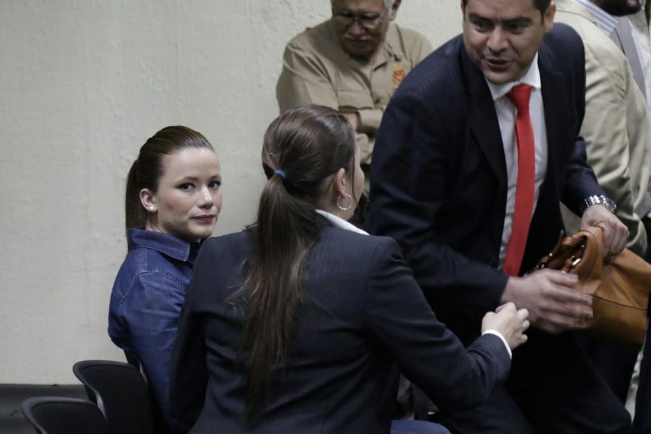 """Los acusados del caso Cooptación del Estado se oponen a escuchar a Salvador González """"Eco"""". (Foto: Alejandro Balán/Soy502)"""