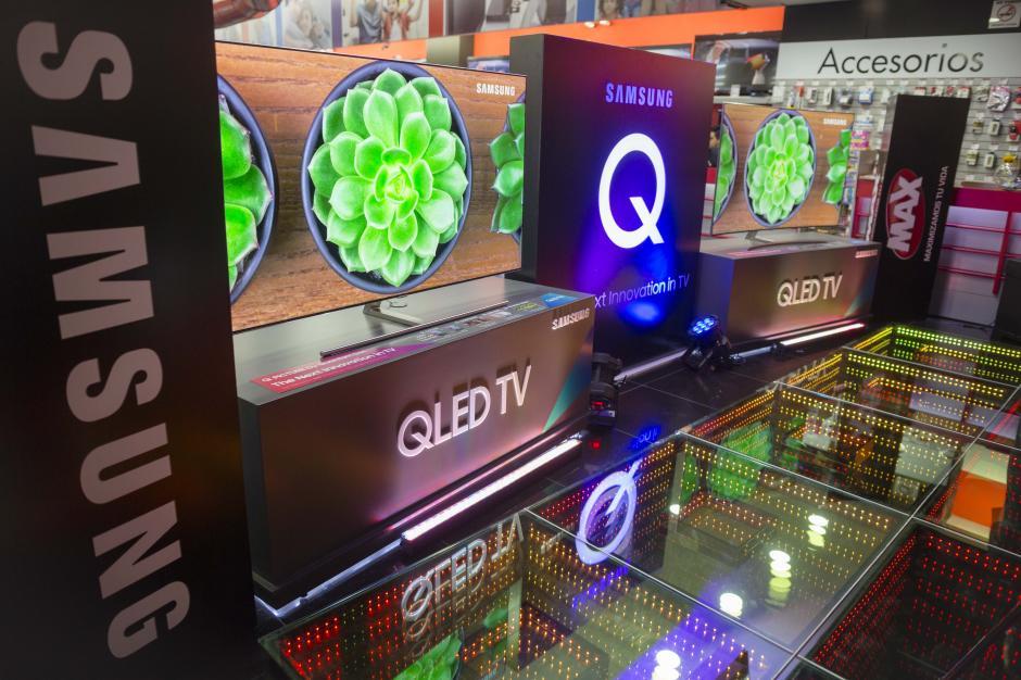 QLED TV se encuentra disponible en Tiendas Max. (Foto: George Rojas/Soy502)