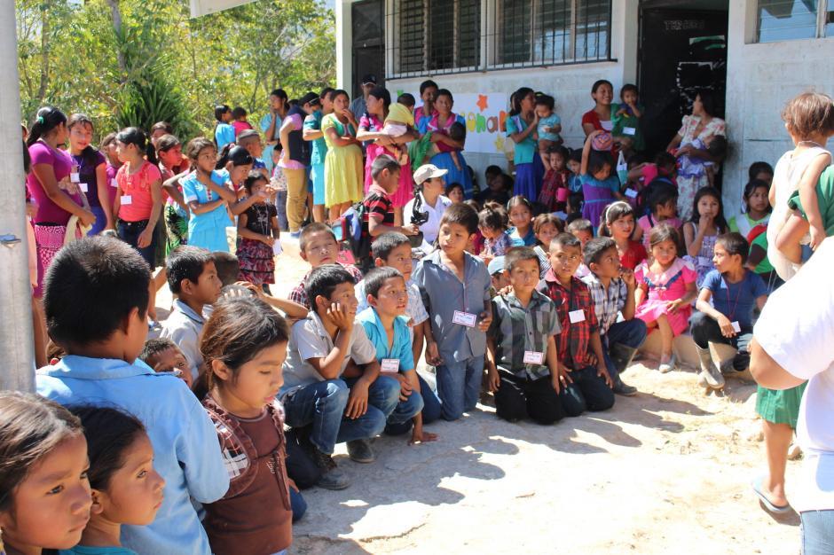 Los niños en diversas comunidades se ven beneficiados con el apoyo de Buckner. (Foto: Buckner Guatemala)