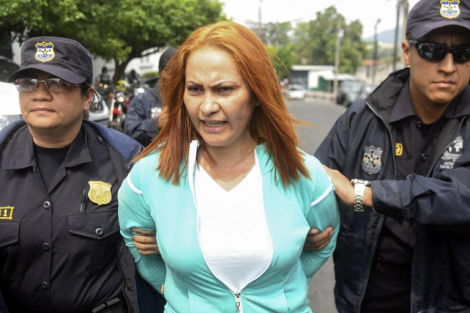 Marixa Lemus fue recapturada en El Salvador tras 14 días prófuga. (Foto: AFP)