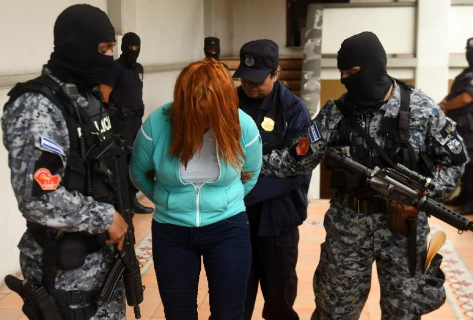 Las autoridades la trasladaron a la frontera con Guatemala. (Foto: AFP)