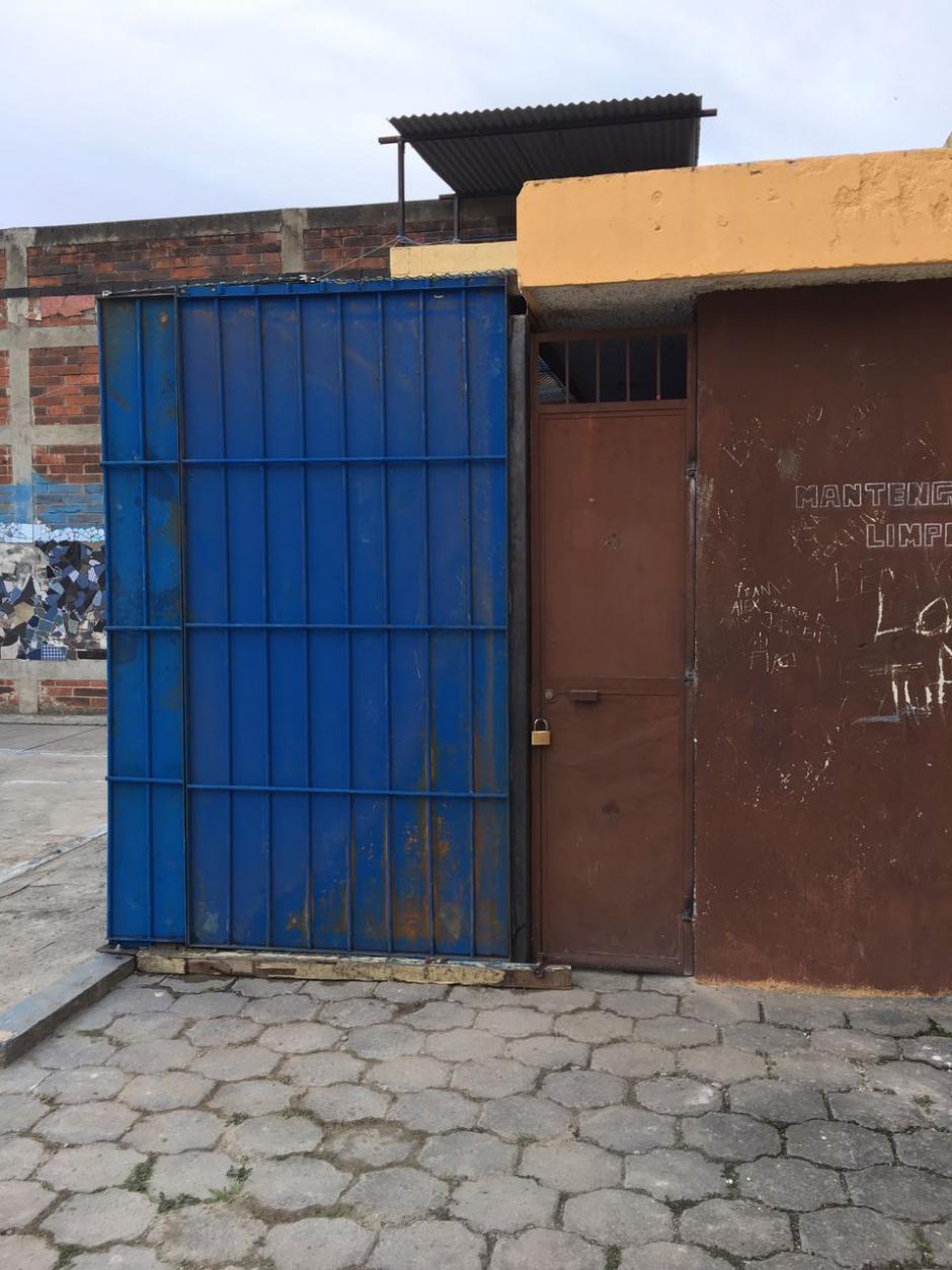"""Vista externa del área donde está recluida """"La Patrona"""" en la cárcel preventiva para mujeres Santa Teresa. (Foto: Soy502)"""