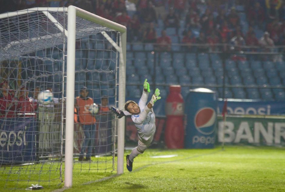 Este es el gol que llegó al minuto 30. (Foto: Luis Barrios/Soy502)