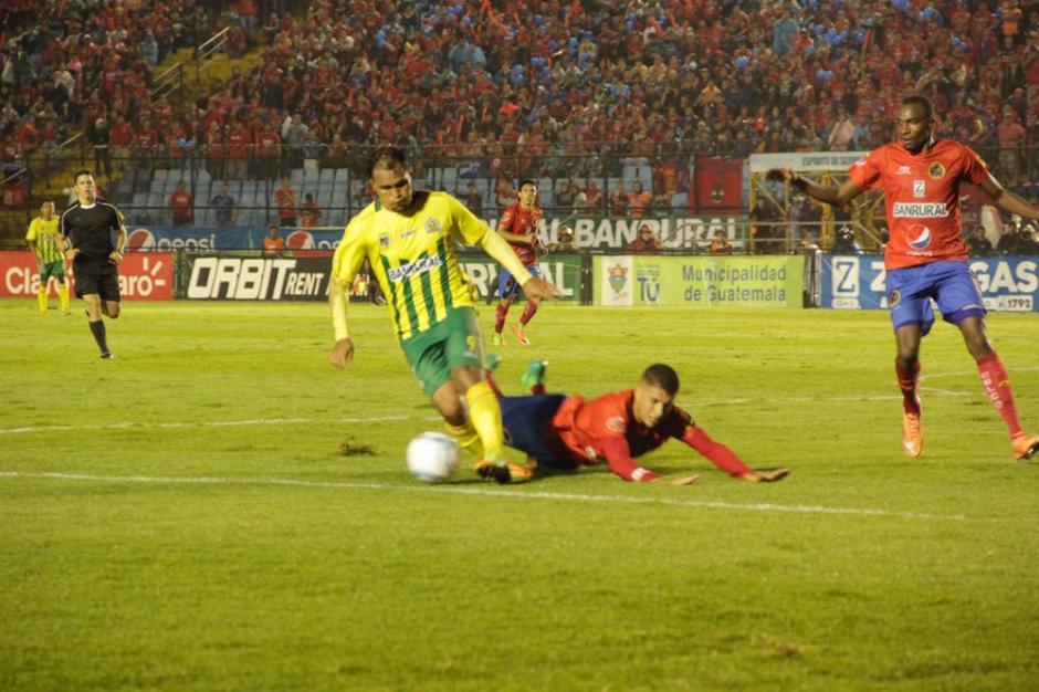 Guastatoya luchó pero no logró anotar. (Foto: Fredy Hernández/Soy502)