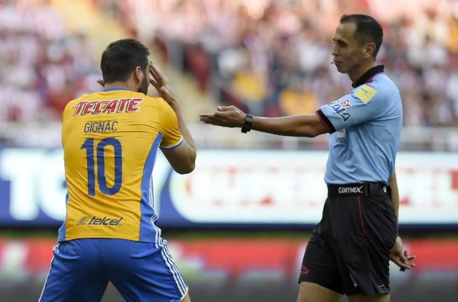 André Pierre Gignac no pudo brillar en el juego de vuelta. (Foto: AFP)