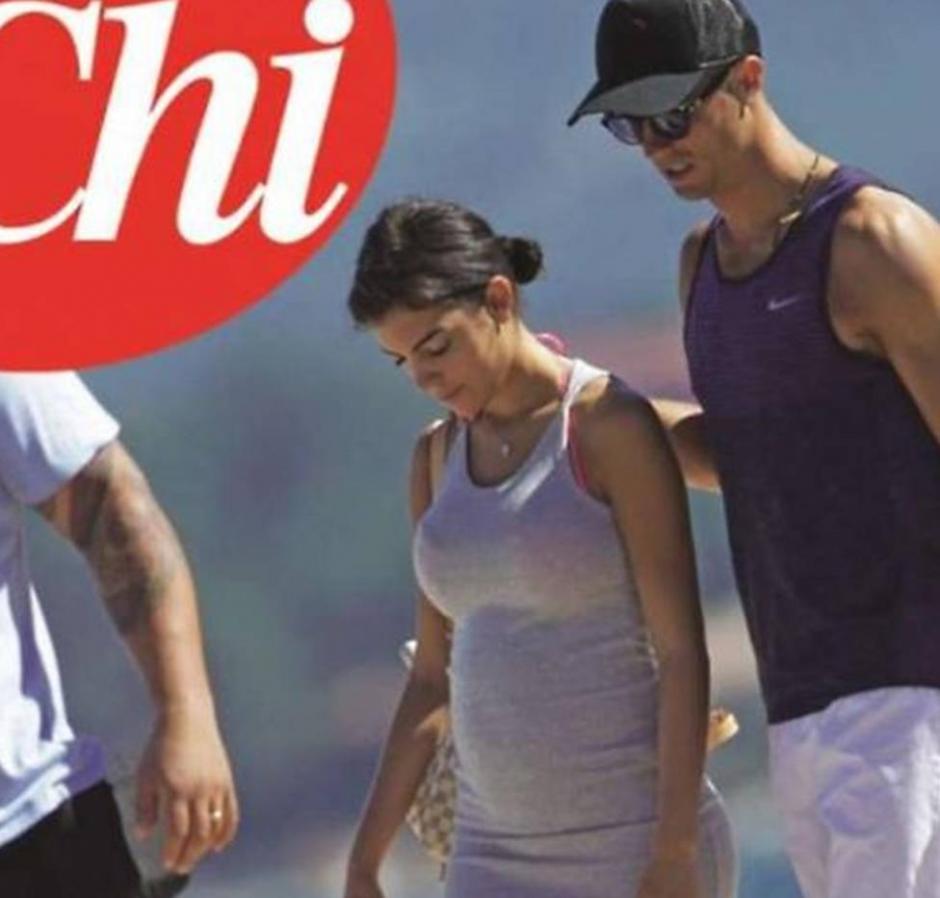 Según la revista italiana Chi, CR7 volverá a ser papá. (Foto: Chi)