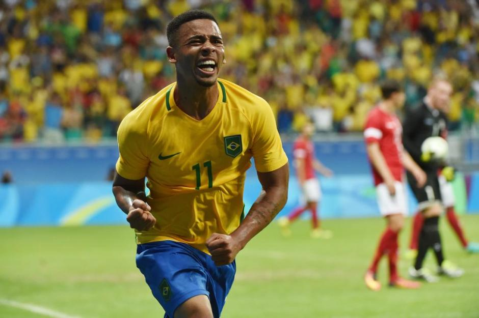 Gabriel Jesús brilló en la Selección campeona olímpica de Brasil. (Foto: Twitter)
