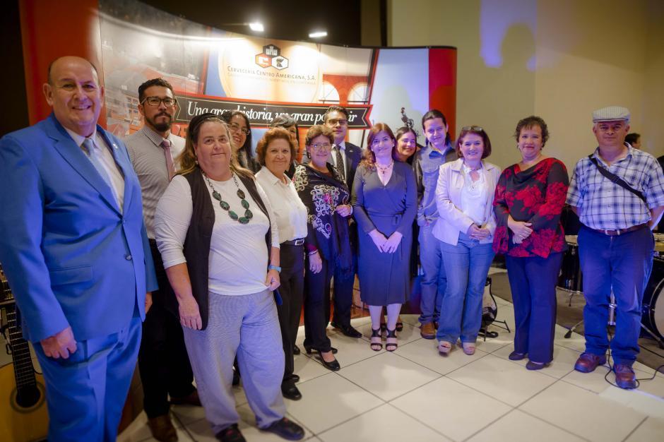 Directores y representantes de los museos miembros del AMG-ICOM Guatemala presenciaron la actividad. (Foto: George Rojas/Soy502)