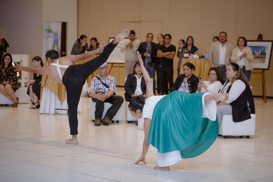 Un show de danza fue presentado a los miembros del AMG-ICOM Guatemala. (Foto: George Rojas/Soy502)