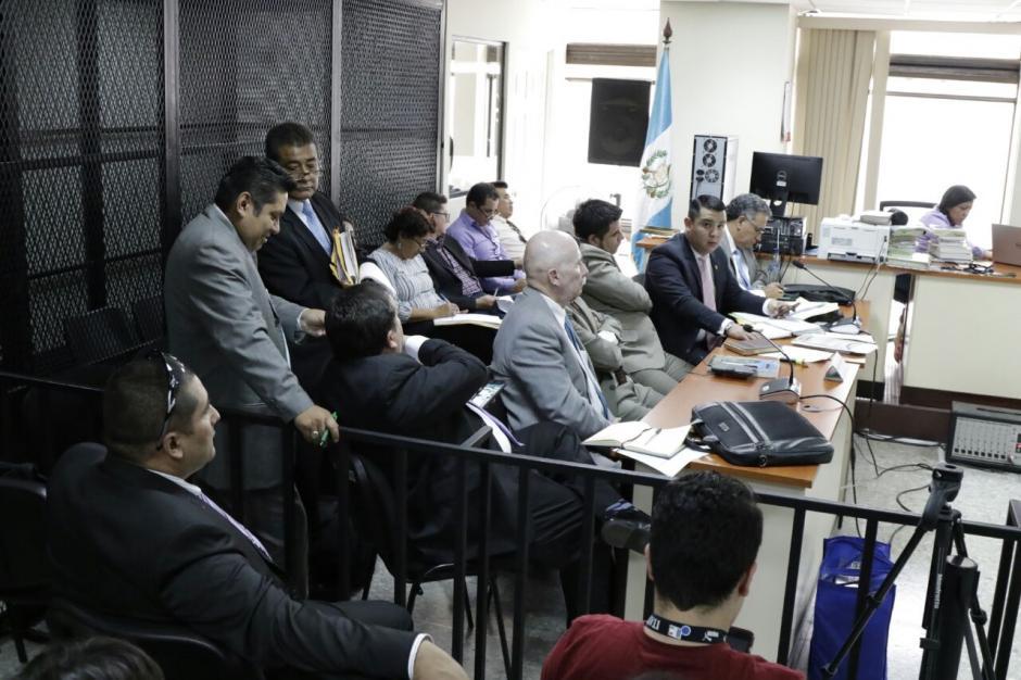 La defensa de varios sindicados presentó incidentes y otros recursos que se oponen a la resolución del Juzgado de Mayor Riesgo C. (Foto: Alejandro Balán/Soy502)