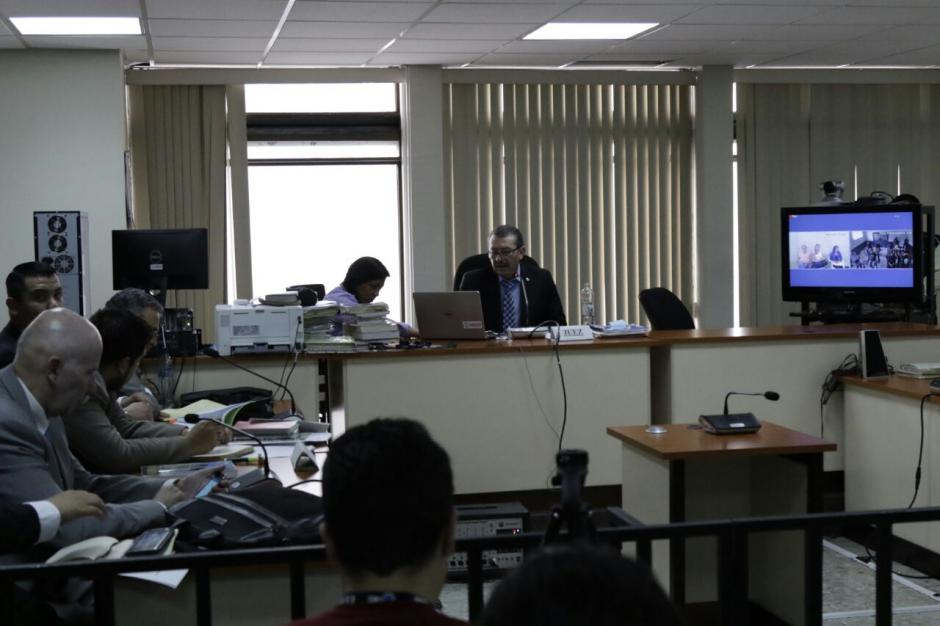 La audiencia de primera declaración empezó el pasado 15 de marzo. (Foto: Alejandro Balán/Soy502)