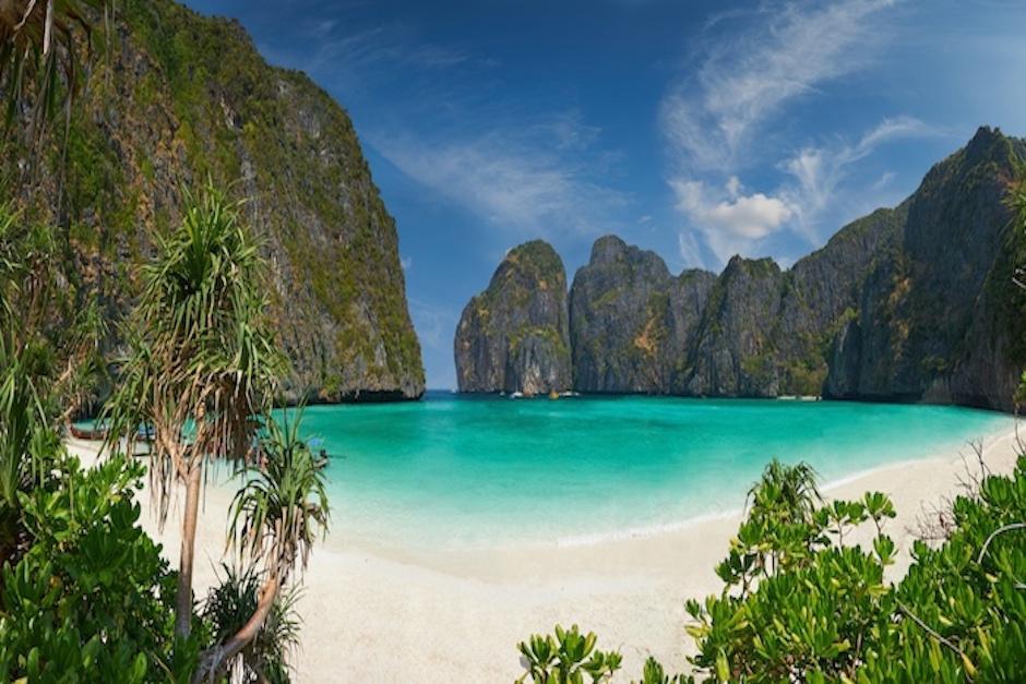 """Leonardo Di Caprio grabó en estas islas la película """"La Playa"""". (Foto: phiphirelaxresort.com)"""