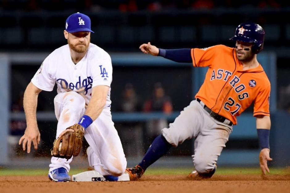 La inteligencia de Los Astros se impuso a la estrategia de los Dodgers. (Foto: AFP)