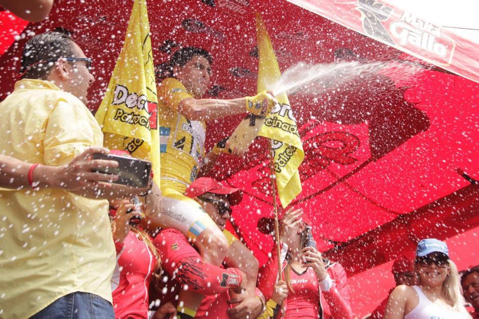 Manuel Rodas es el guatemalteco que ganó la Vuelta Ciclística. (Foto: Fredy Hernández/Soy502)