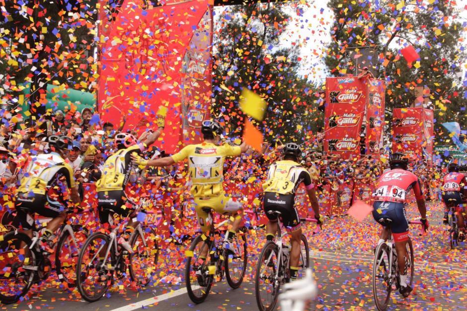 Fue el ciclista con el mejor tiempo en toda la competición. (Foto: Fredy Hernández/Soy502)