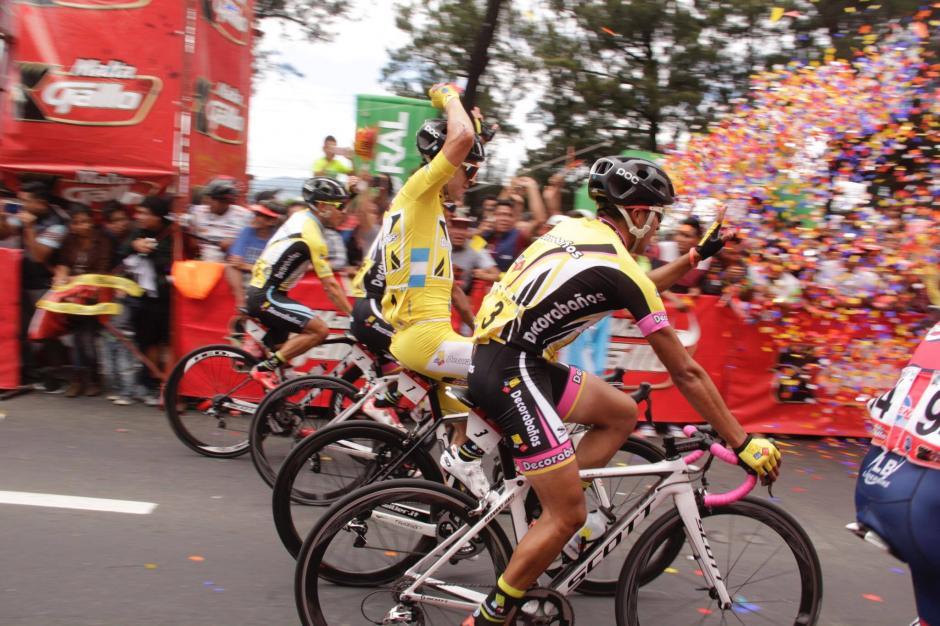 El ciclista guatemalteco rompió una sequía de triunfos para Guatemala de 17 años en esta competición. (Foto: Fredy Hernández/Soy502)