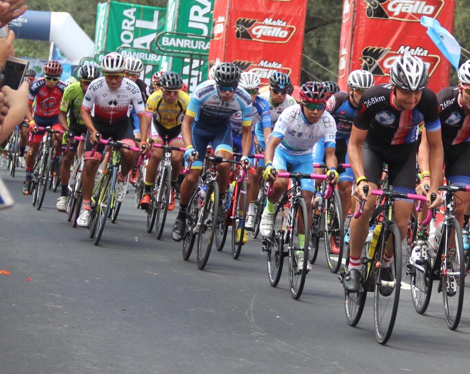 Emeterio Vicente Mejía finalizó en el puesto 67 de la Vuelta a Guatemala. (Foto: Fredy Hernández/Soy502)