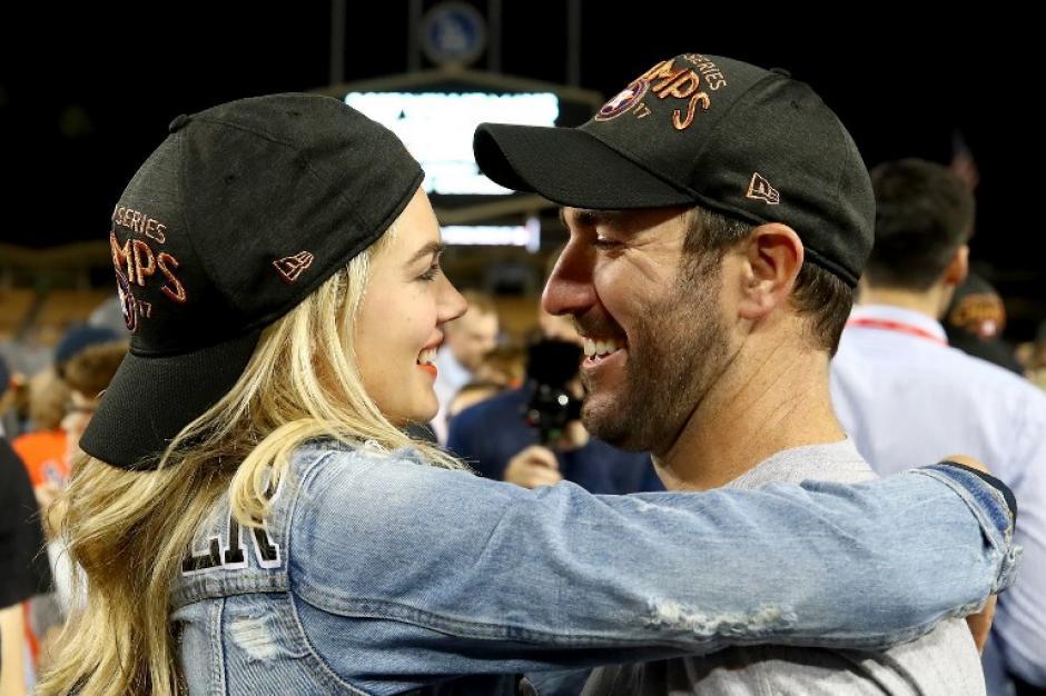 Justin Verlander el más envidiado de los Astros de Houston. (Foto: AFP)