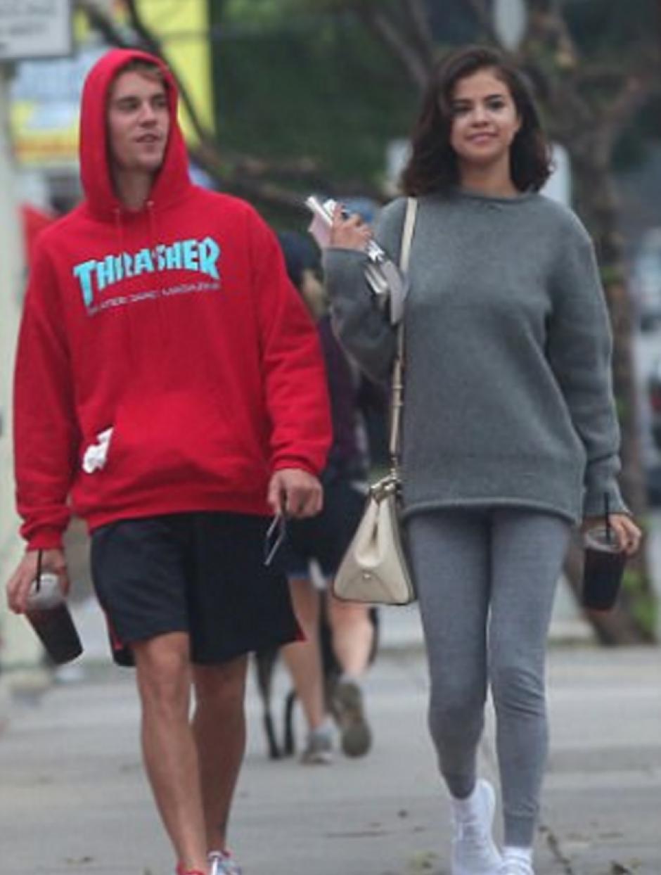 Ambos pasearo por las calles de Los Ángeles. (Foto: Mail Online)