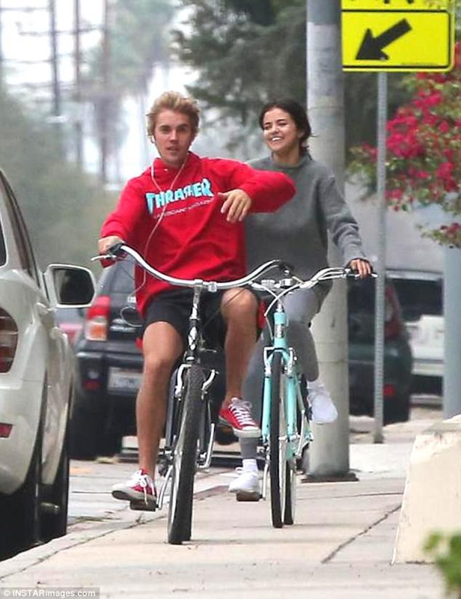 Los dos pasaron la tarde juntos. (Foto: Mail Online)